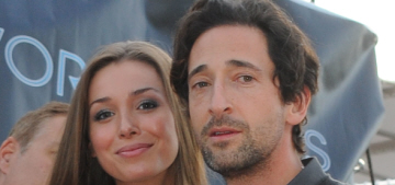 Adrien Brody parties in Cannes with his girlfriend Lara Lieto: try-hard or cute?