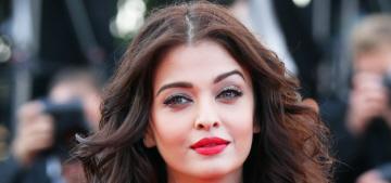 Cannes Fashion: Aishwarya Rai in golden Cavalli, Marion Cotillard in fug Dior