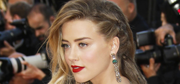 Cannes Fashion: Amber Heard in sloppy Vionnet, plus assorted models