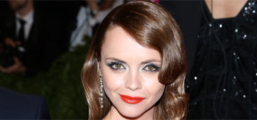 Christina Ricci is pregnant with her 1st child with hubby James Heerdegen