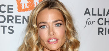 Charlie Sheen follows through on threat to kick Denise Richards out of her home