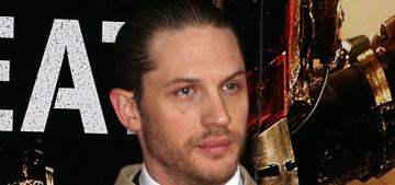 Tom Hardy looks scruffy, bloke-ish at 'Edge of Tomorrow' premiere: would you hit it?