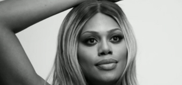 """Trans actress/advocate Laverne Cox finally got the cover of Time Mag"" links"