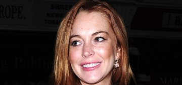 Did Lindsay Lohan party with Bill Clinton at the Chiltern Firehouse in London?