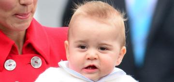 Duchess Kate: Prince George has oversized Spider-Man pajamas & he's 'noisy'