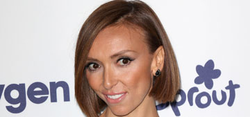 Star: Giuliana Rancic believes her name can get her everything for free