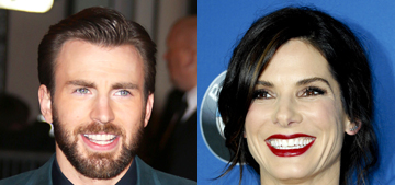 Chris Evans & Sandra Bullock are a thing now? 'They really like each other'