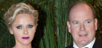 Princess Charlene & Prince Albert are expecting their first baby together