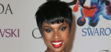 Jennifer Hudson in Kaufmanfranco at the CFDA Fashion Awards: pretty or plain?