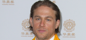 Charlie Hunnam: 'It's heartbreaking not to be able to play Christian Grey'