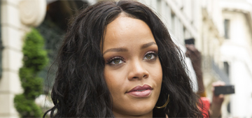 Rihanna wears Balmain in Paris for Rogue perfume launch: gorgeous?