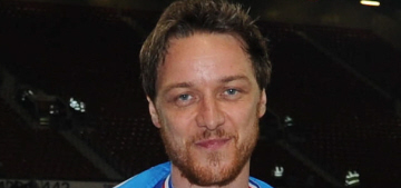 James McAvoy got dirty, sweaty for UNICEF UK Soccer Aid: would you hit it?
