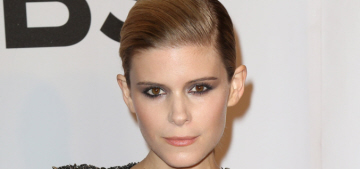 Kate Mara had linebacker shoulders in D&G at the Tonys & other fashion pics