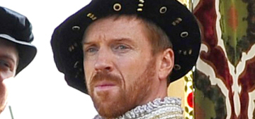 Damian Lewis in character as King Henry VIII: would you hit it?