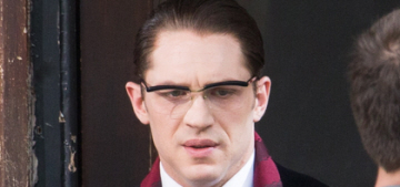 Tom Hardy wears glasses for 1960s gangster film 'Legend': would you shag it?