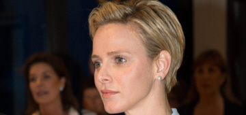 Princess Charlene is barely showing, she's reportedly pregnant with twins too