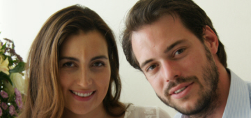 Prince Felix & Claire of Luxembourg debut 3-day old Princess Amalia Gabriela