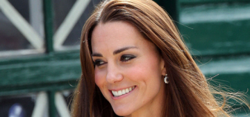 Duchess Kate repeats a glorious, buttony McQueen for Bletchley Park re-opening