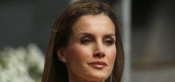 Queen Letizia of Spain wears Felipe Varela ensemble to coronation: perfection?