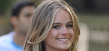 Cressida Bonas apparently had a heated exchange with Guy Pelly & his wife