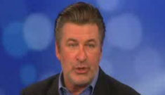 "Alec Baldwin's starts out poorly on ""The View"" but comes off well at the end"