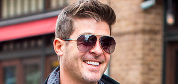 Robin Thicke's 'Get Her Back' video for Paula: douchey or so awkward?