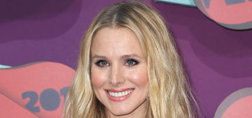 Kristen Bell is pregnant just over a year after having her first child