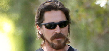 Christian Bale gets papped with his pregnant wife, Sibi: furry & adorable?