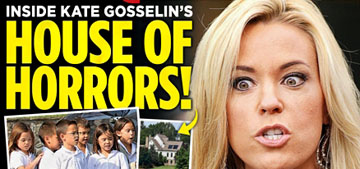 Kate Gosselin's 'House of Horrors' covers Enquirer: nothing new to see here?