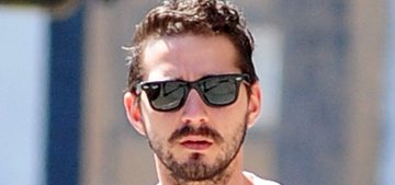 Shia LaBeouf publicly urinated at restaurant, is 'definitely' not on drugs