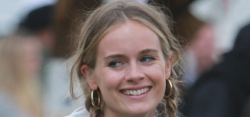 Cressida Bonas gets muddy at Glastonbury, parties with 22-year-old Will Poulter