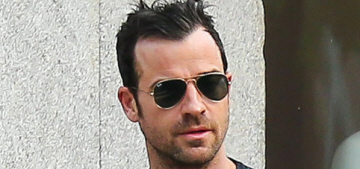 Justin Theroux hangs out with his BFF Terry Richardson in NYC: gross?