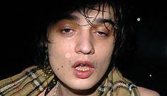 Pete Doherty Goes to Rehab, Take 322