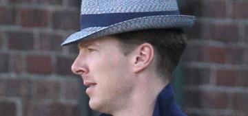 Breaking news: Benedict Cumberbatch ate his first cannoli in Boston