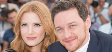"""James McAvoy & Jessica Chastain's new movie looks really good"" links"
