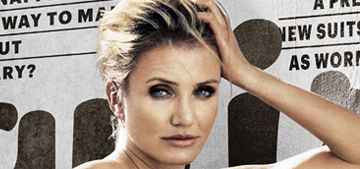Cameron Diaz: 'I like protecting people but was never drawn to being a mother'