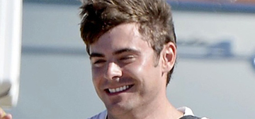 Zac Efron & Michelle Rodriguez are on vacay together in Italy: hot?