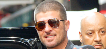 Robin Thicke isn't stalking Paula, he's being 'artistic' during 'a difficult period'