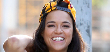 Michelle Rodriguez & Zac Efron papped kissing: they're not just friends?