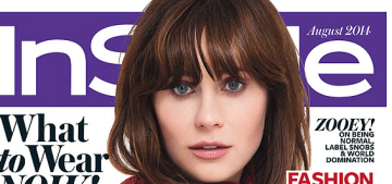Zooey Deschanel: 'Like every woman is dying to give birth! I don't think so.'