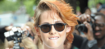 Kristen Stewart shows off a new haircut, harem pants in Paris: cute or fug?
