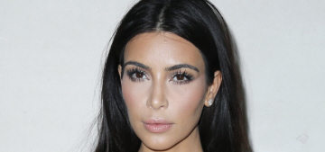 Kim Kardashian attends Valentino show in Paris: surprisingly pretty or still tacky?