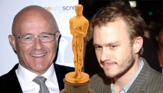 Who will accept Heath Ledger's Oscar?