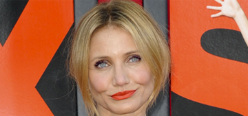 Cameron Diaz in a Stella McCartney onesie for LA premiere: awful or not bad?