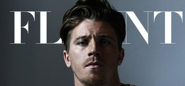 Garrett Hedlund recommends celebs 'just not participate' if they want privacy