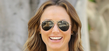 Stacy Keibler: 'Pregnancy is not a time to have an excuse to eat donuts'