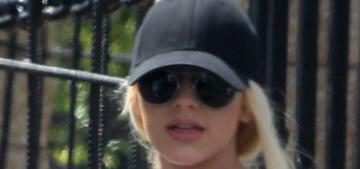 Christina Aguilera shows off her third-trimester bump with fiancé Matt Rutler