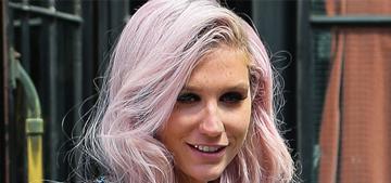 Kesha: Male singers who party are 'rock & roll,' women are 'train wrecks'