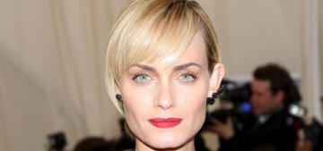 Amber Valletta comes clean about her cocaine & alcohol addiction 15 years ago