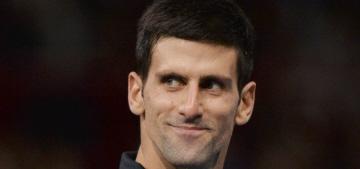 Novak Djokovic & Jelena Ristic's wedding photos cover Hello: cute?